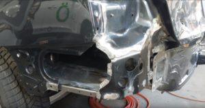Профессиональный ремонт кузова Audi A4