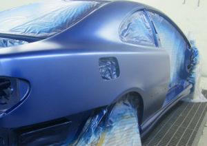 Покраска кузова Audi A1