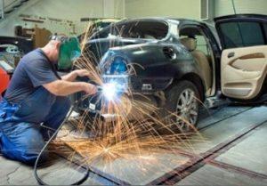 Кузовной ремонт Alfa Romeo Mito в СПб.
