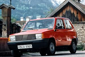 Fiat Panda 1 поколение