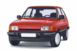 Ford Fiesta 2 поколение