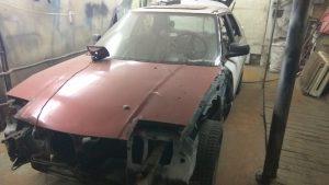 Кузовной ремонт Mazda 323 BD