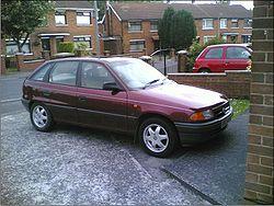 Chevrolet Astra 1 поколение