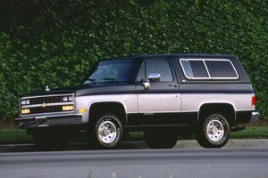 Chevrolet Blazer 3 поколение