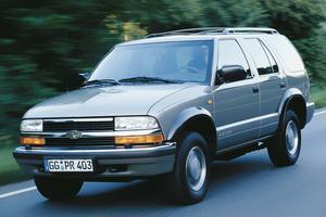 Chevrolet Blazer 4 поколение