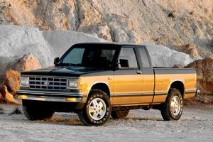 Chevrolet S-10 1 поколение
