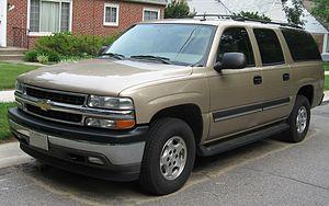 Chevrolet Suburban 10 поколение