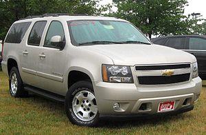 Chevrolet Suburban 11 поколение