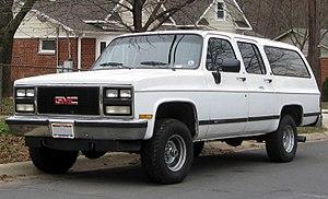 Chevrolet Suburban 8 поколение