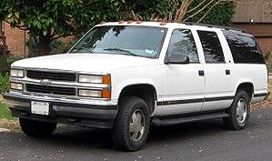 Chevrolet Suburban 9 поколение