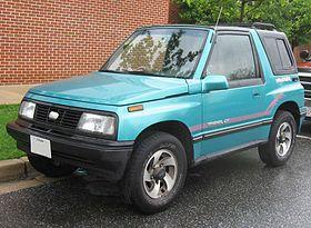 Chevrolet Tracker 1 поколение