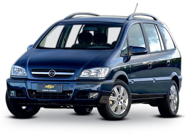 Chevrolet Zafira 2 поколение