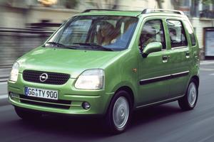 Opel Agila 1 поколение