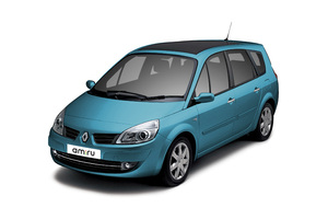 Renault Scenic 2 поколение