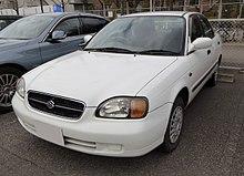 Suzuki Cultus 3 поколение