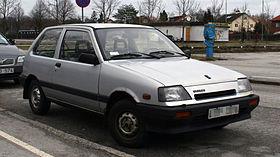 Suzuki Cultus 1 поколение
