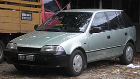 Suzuki Cultus 2 поколение
