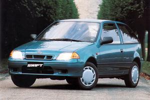Suzuki Swift 2 поколение