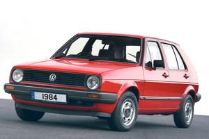 Volkswagen Golf 2 поколение