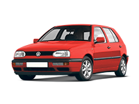 Volkswagen Golf 3 поколение